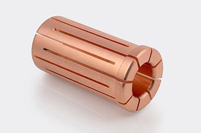 Precision Machined Copper Collet
