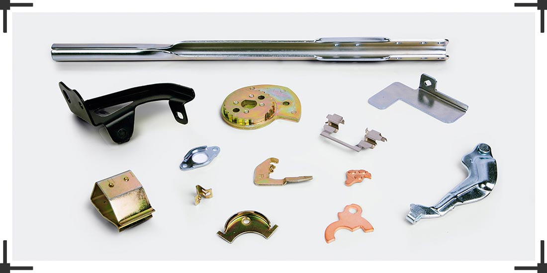 Sheet Metal Pressed & Formed Components