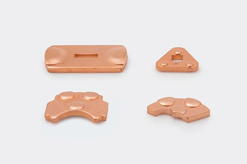 Copper Rotating Contacts with Dimples