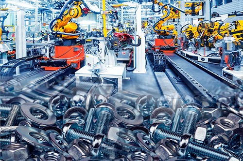 Engineering and Suppliers of General Industrial Equipment, Hardware & Fasteners