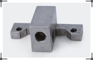 BLOCK WITH MILLED ARMS & X HOLES